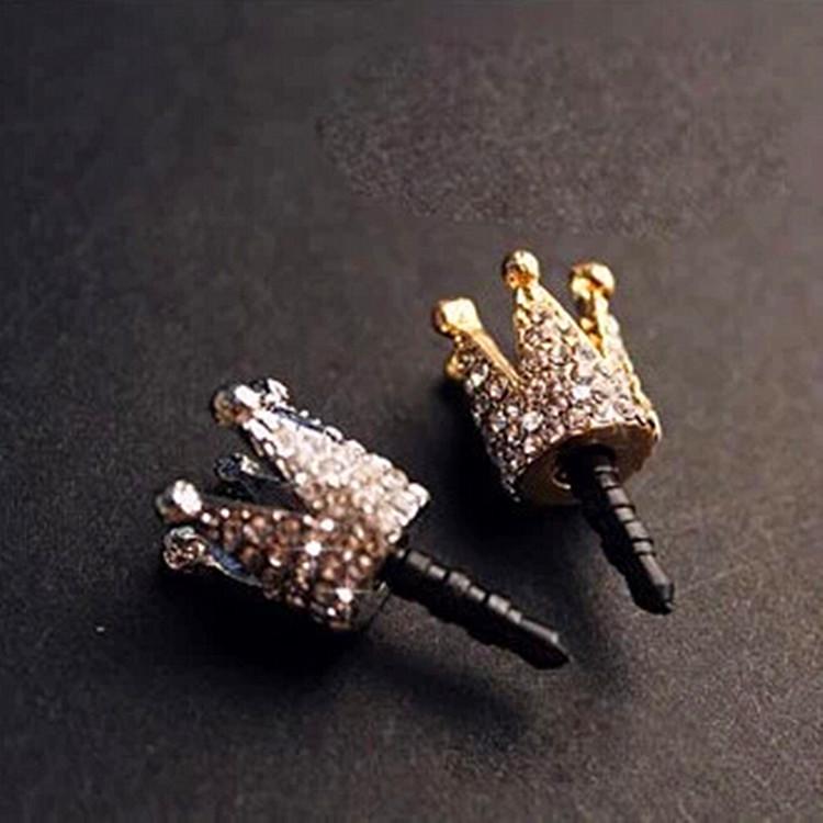 Nút cắm chống bụi Phiên bản tiếng Hàn của trang sức nhỏ điện thoại di động bụi cắm đầy đủ khoan rhin
