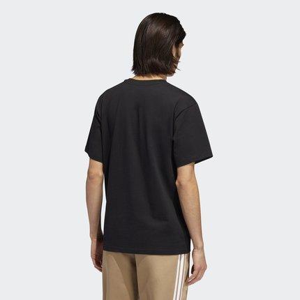 áo thun  Adidas adidas clover BB PILLAR TEE áo sơ mi nam ngắn tay EC7377 EC7378