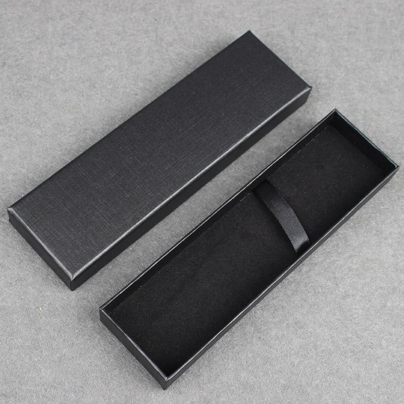 JUANYI hộp giấy âm dương Spot hộp bút trung tính hộp bút hình chữ nhật trời và đất bìa hộp giấy flan