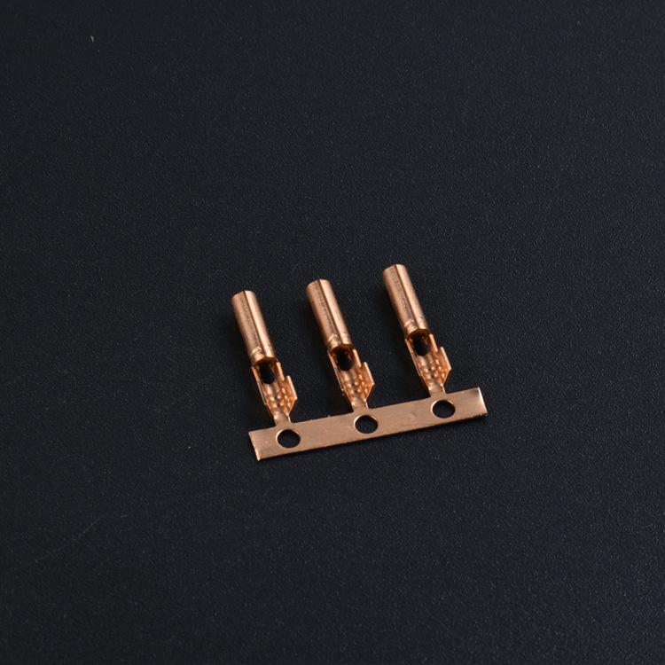 JY7 Cầu đấu dây Domino Điểm bán buôn 1.7 thiết bị đầu cuối ống đồng Thiết bị đầu cuối đường dây sạc