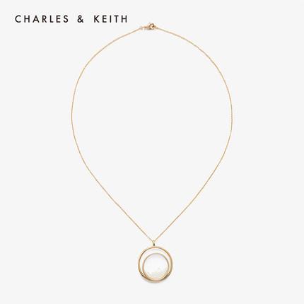 đồ trang trí trang phục  CHARLES & KEITH Vòng cổ CHARLES & KEITH CK5-21430050 Vòng kim loại trong su