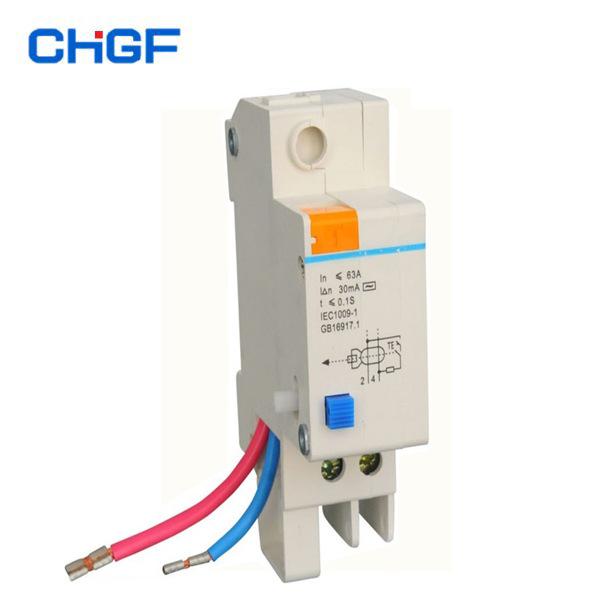 CHGF Thiết bị chống giật điện Cung cấp đơn vị rò rỉ thông minh DZ47L-1P 32A tiết kiệm chi phí