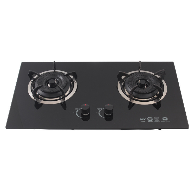 Bếp gas âm Nhà bếp tiết kiệm năng lượng trực tiếp nhúng bếp đôi