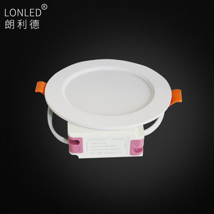 LANGLIDE Đèn LED downlight 4 inch Đèn trần nhúng 12W 2.5 inch Đèn chống sương mù 6W Nhà máy 9W bảo h