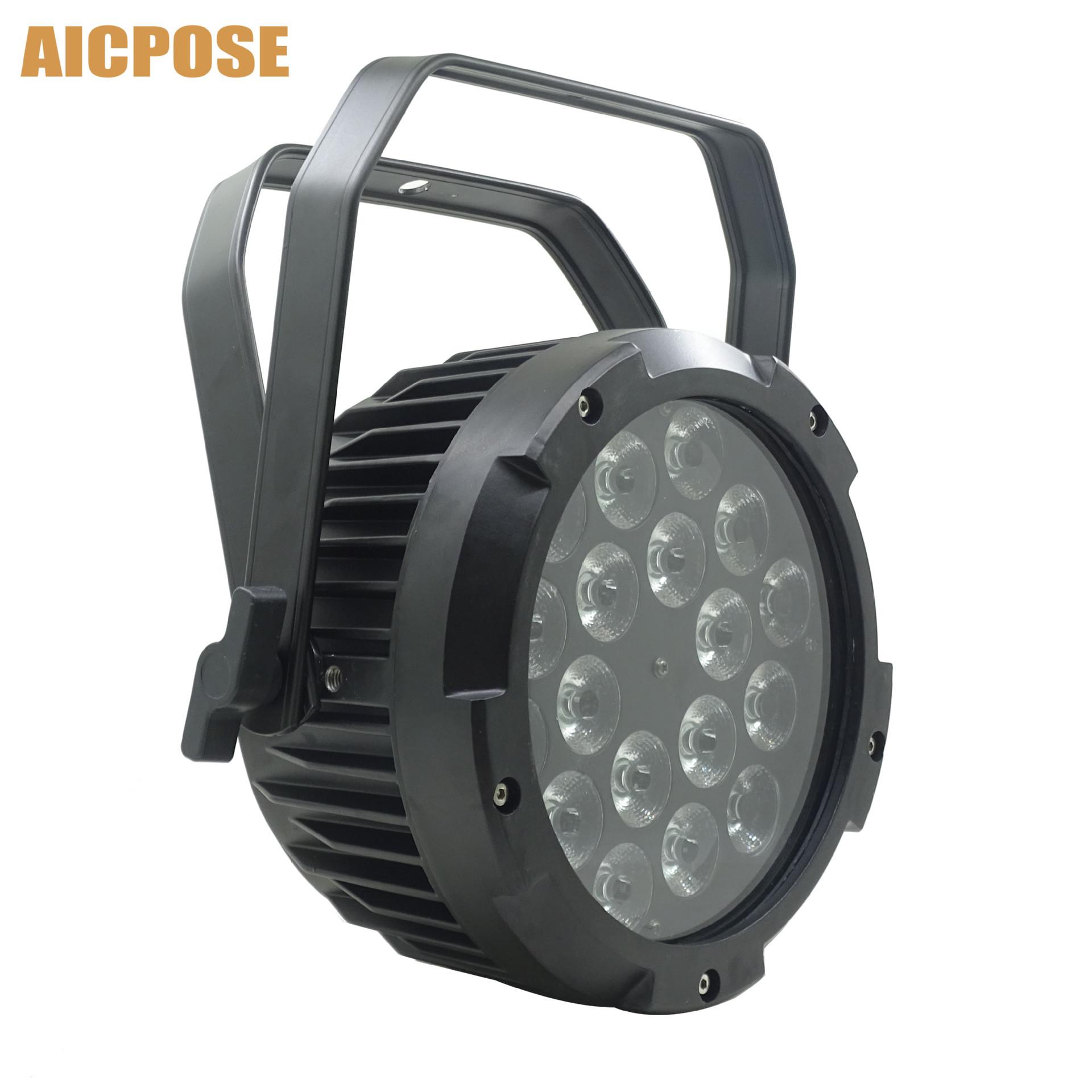 Đèn sân khấu Không thấm nước theo tiêu chuẩn IP65 18 chiếc 4 trong 1/5 in 1/6 trong 1 đèn LED điều k