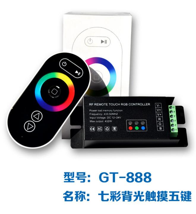 Bộ điều khiển LED chiếu sáng đầy màu sắc thông minh không dây
