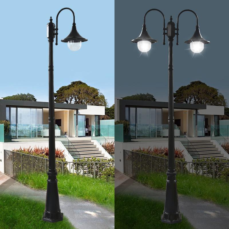 Đèn LED ngoài trời đèn sân vườn kiểu châu Âu .