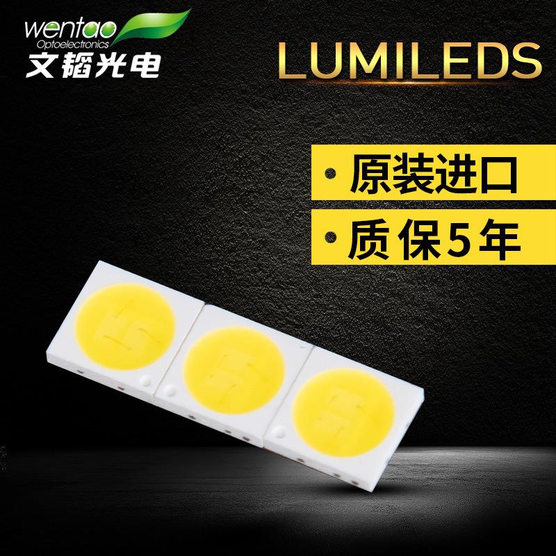 WENTAO Thiết bị điện quang Nổ vá 3030 Hạt đèn SMD 1W LUMILEDS ban đầu hiệu quả cao ánh sáng cao ngón