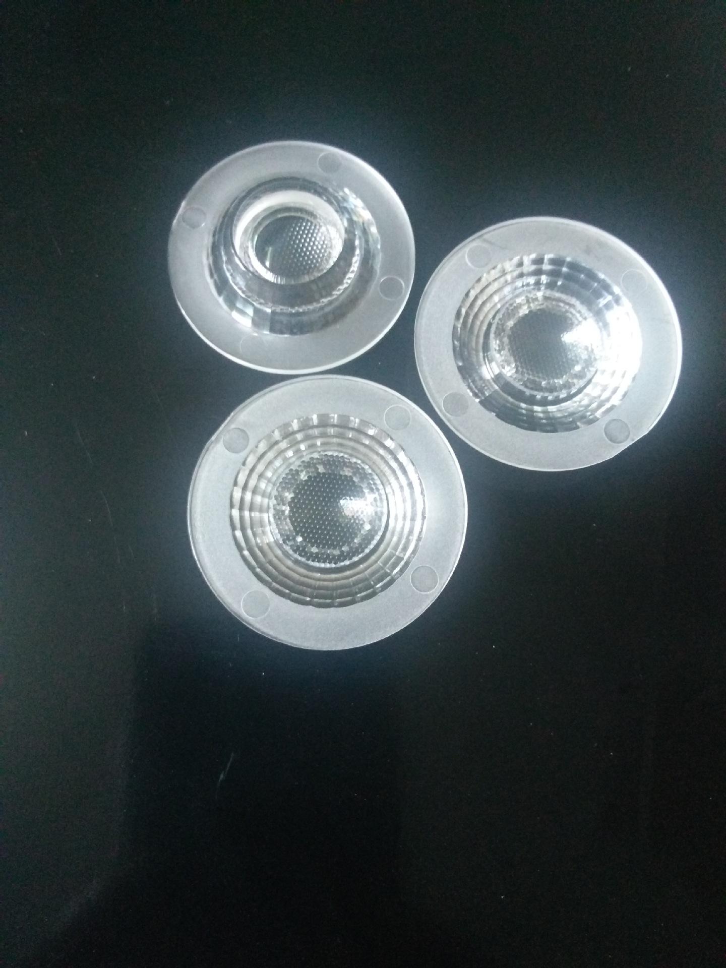 QINSHI Đèn LED thấu kính Ống kính cực lớn, ống kính đường kính 35mm, ống kính đèn pha, ống kính đèn
