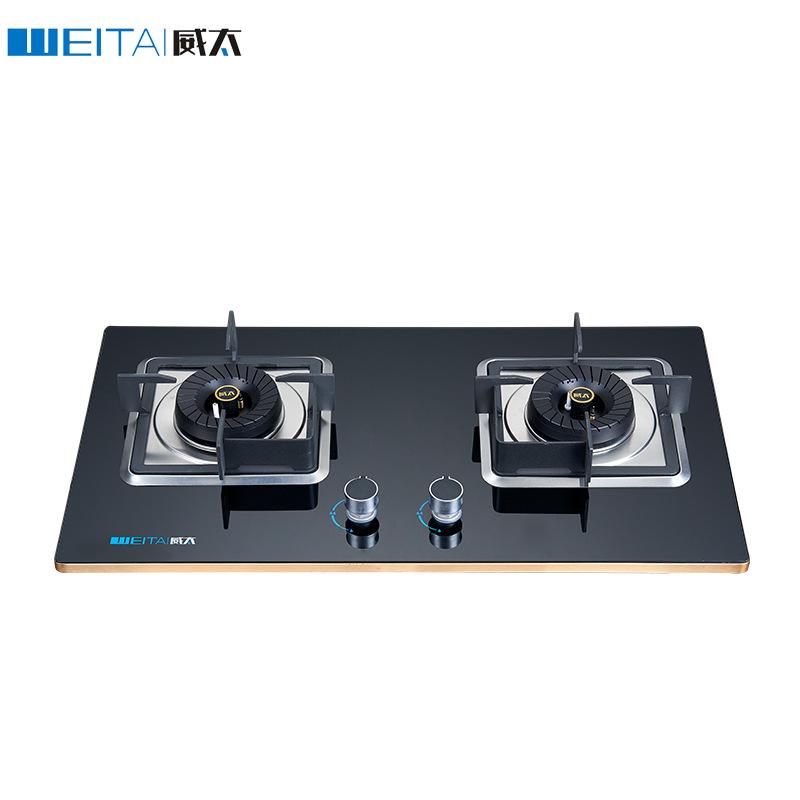 Bếp gas Âm nhúng đôi bếp kính cường lực - WEITAI