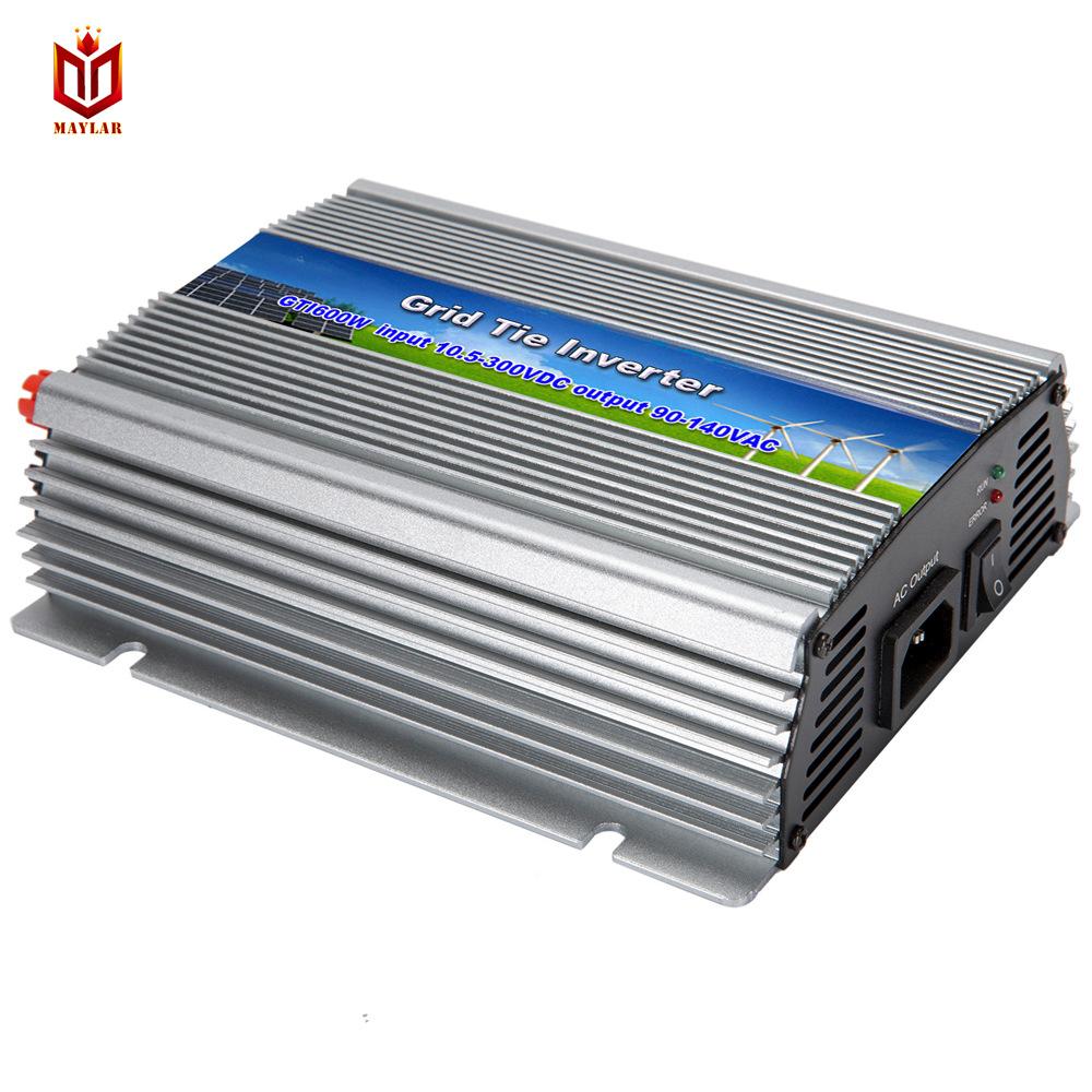 Biến tần chuỗi năng lượng mặt trời bạch dương đẹp 110v / 220 V GTI600W