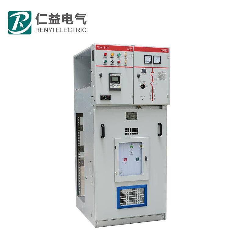 RENYI Tủ mạng cabinet XGN15-12 kim loại , loại đóng vòng mạng thiết bị đóng cắt