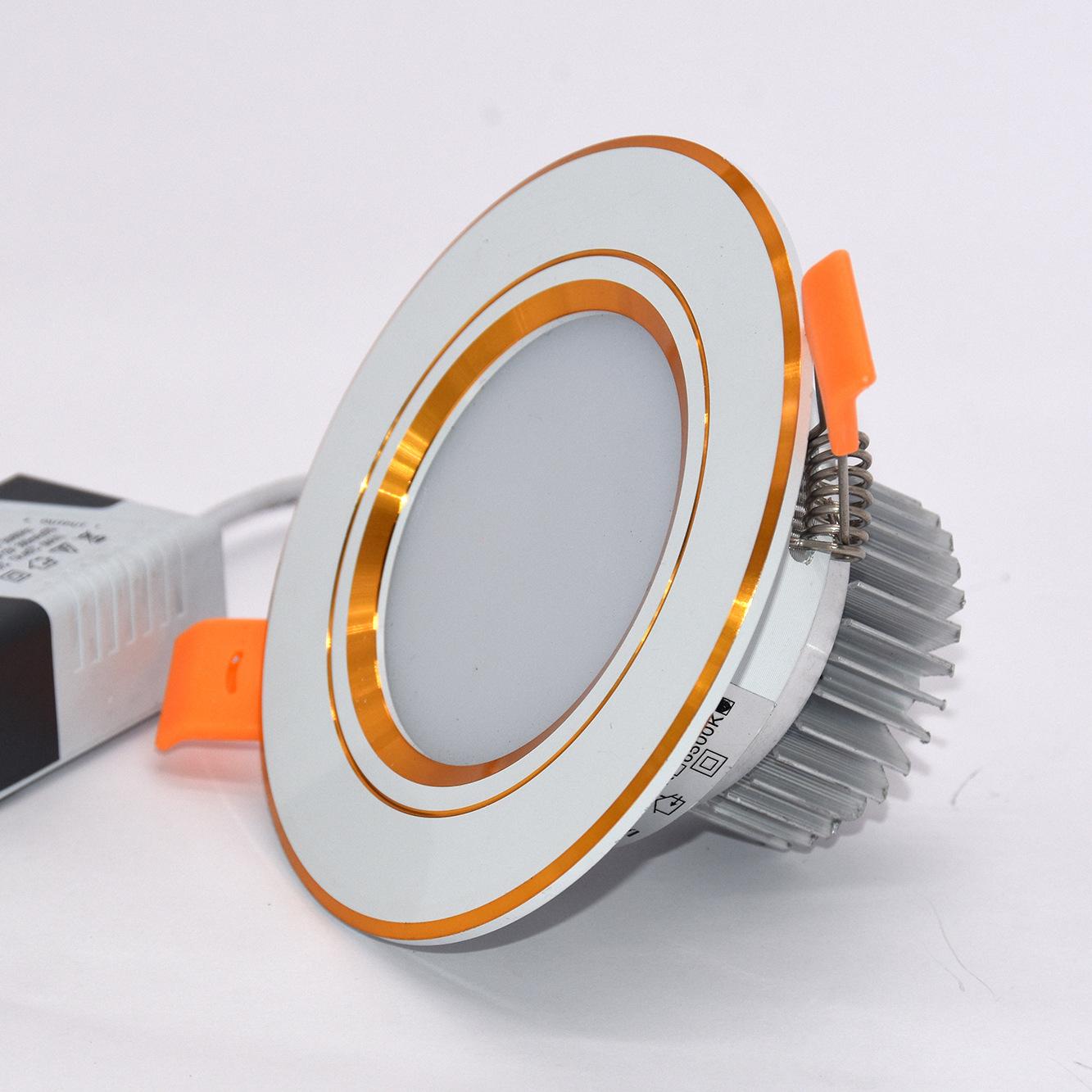 HUANHUI Đèn trần bộ Nhà máy trực tiếp LED Down Light Bộ vỏ nhà trần Phụ kiện vỏ trần SM Downlight Pl
