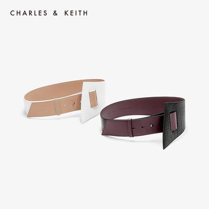 đồ trang trí trang phục  CHARLES & KEITH Thắt lưng CHARLES & KEITH CK4-32250230 Thắt lưng nữ màu đơn