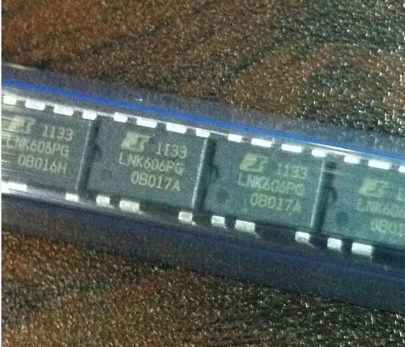 NIENDA Bộ chuyển nguồn IC Cung cấp bộ chuyển đổi AC-DC LNK606 công tắc ngoại tuyến LNK606PG dẫn nguồ