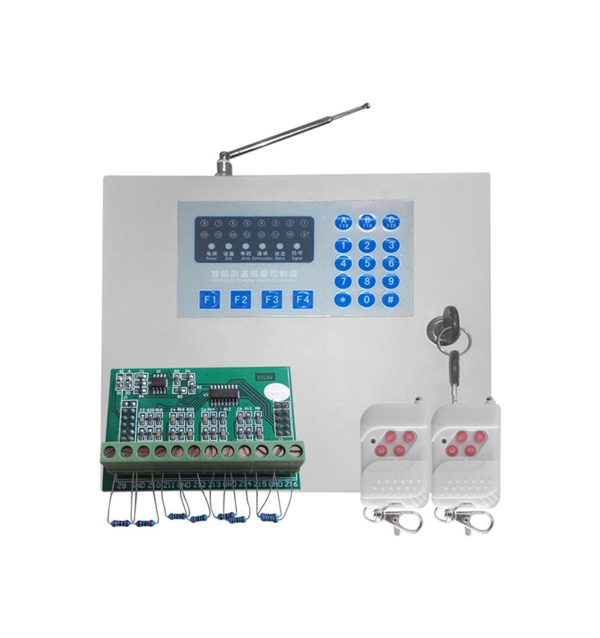 Thiết bị báo cháy máy chủ lưu trữ báo động tương thích có dây