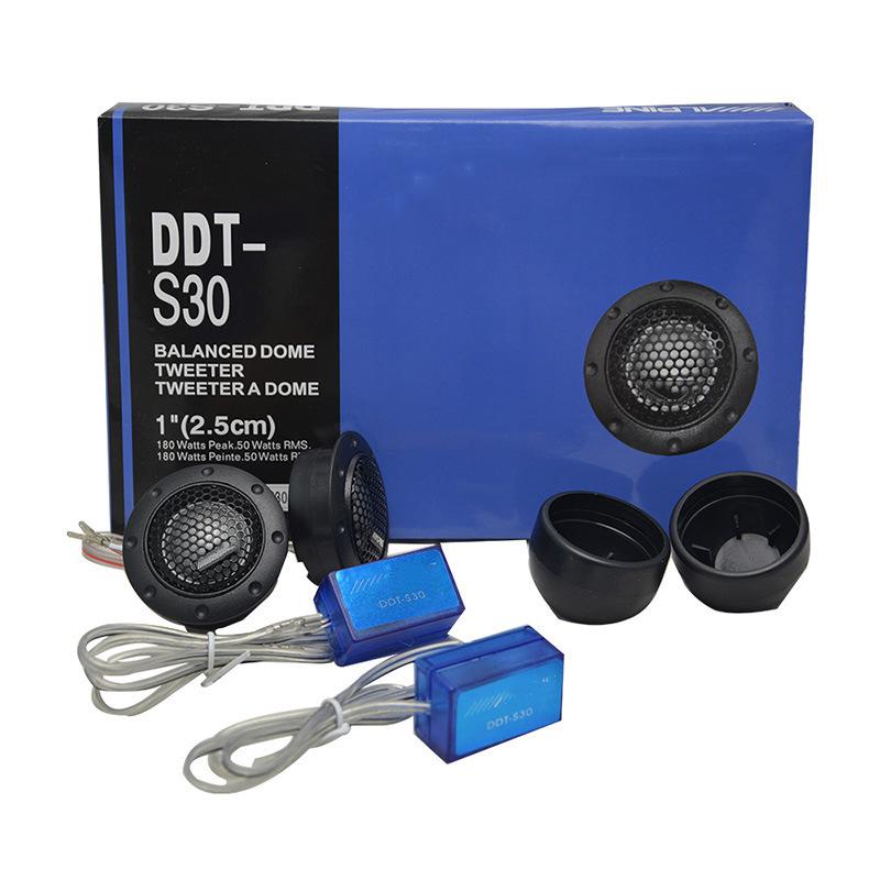 Âm treble DDT-S30 của Nhật Bản / sửa đổi xe hơi / chất lượng âm thanh xe hơi