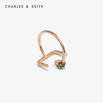 đồ trang trí trang phục  CHARLES & KEITH Nhẫn CHARLES & KEITH CK5-31470030 nhẫn nữ đá bán quý kim lo