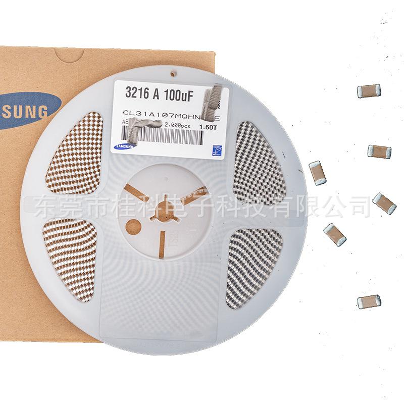GUICKER Tụ Ceramic Tụ điện Samsung CL31A106KAHNNNE (loạt tụ điện 1206)