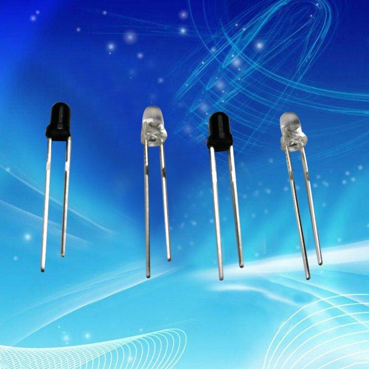 TONGSHENG Thiết bị điện quang Các nhà sản xuất sản xuất ống phát hồng ngoại đầu tròn 3 mm + ống nhận