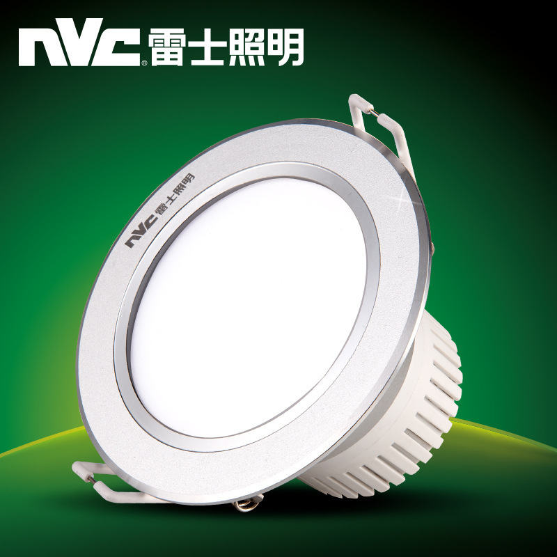 NVC Đèn trần led downlight nhúng đèn trần mở 3w siêu mỏng spotlight lỗ đèn phòng khách lỗ trần đèn l