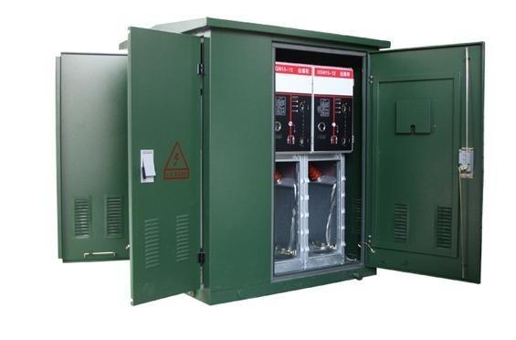 Hộp phân phối cáp Cung cấp chuyên nghiệp vỏ thép không gỉ 10KV ngoài trời Hộp phân phối cáp điện áp