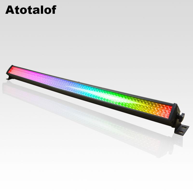 Atotalof Đèn LED Wall Washer Dì chỉ có máy giặt tường dải LED 216 Bar KTV8 phần trang trí marquee Ju