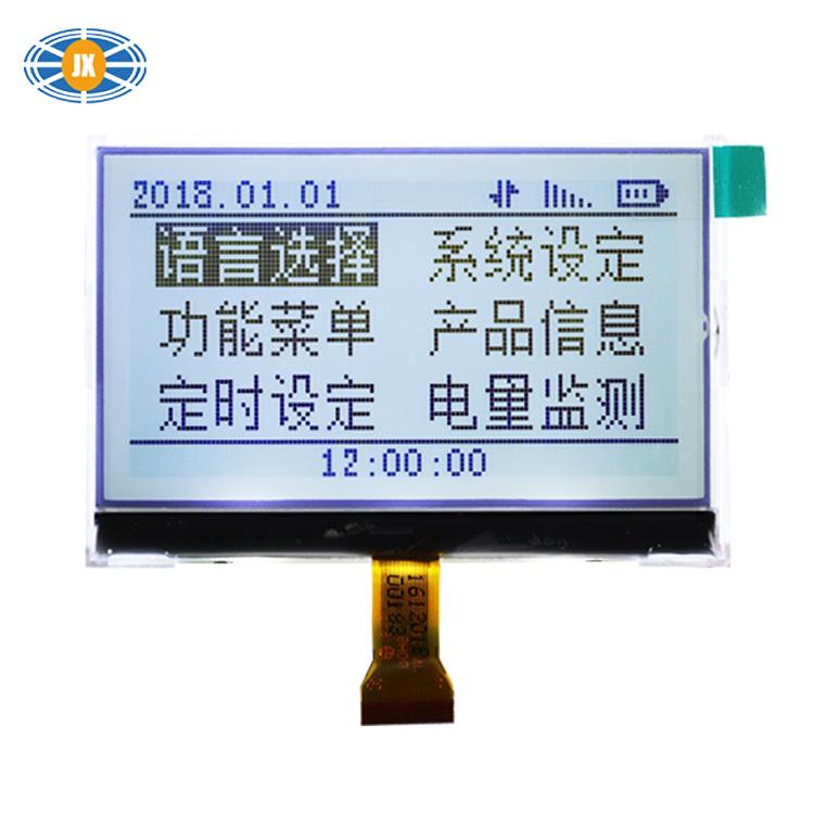 Junxian Sản phẩm LCD Electronics 12864LCD LCD Mô-đun LCD COG công suất thấp Bảo hành trực tiếp trong