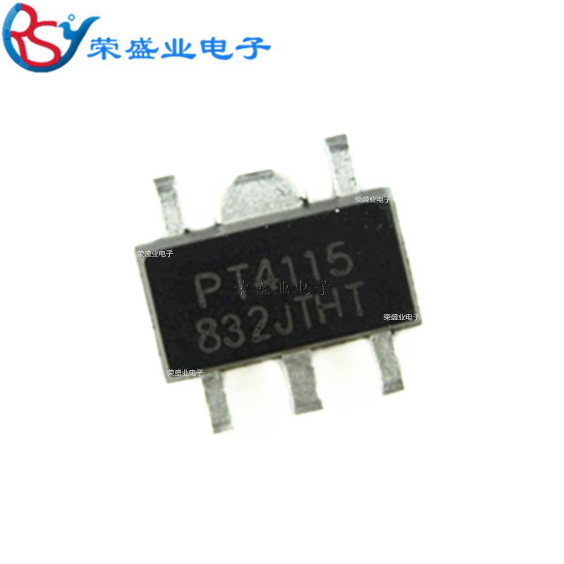 HRXW Bộ chuyển nguồn IC Gói PT4115 SOT-89-5 bước xuống liên tục chip hiện tại Trình điều khiển LED đ