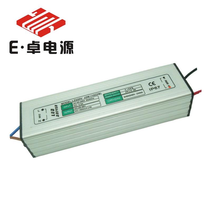 E ZHUO Bộ nguồn không đổi Chống tăng áp 6000V 60W 10 chuỗi 6 và đèn chiếu sáng công nghiệp và khai t