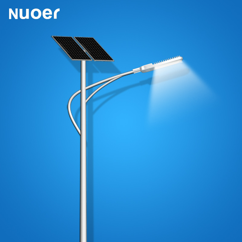 NUOER Đèn LED đèn đường sử dụng năng lượng mặt trời 30W6 mét 40W7 mét 50W8 mét 60W