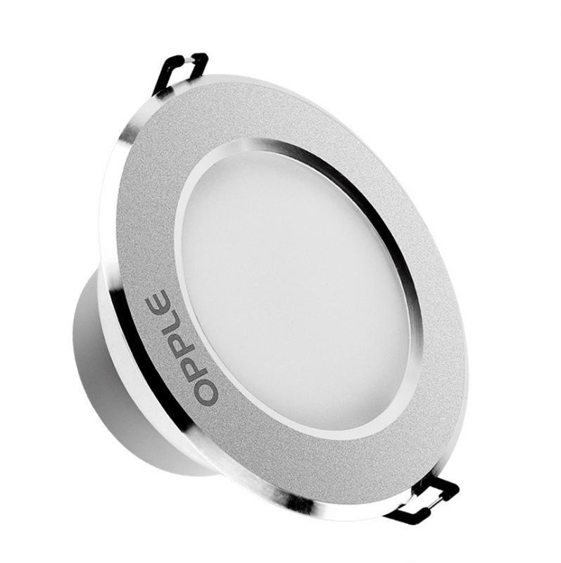 OPPLE Bóng đen LED âm trần Đèn chiếu sáng Oplight Downlight 3W5W7W nhúng trần thùng ánh sáng lối đi