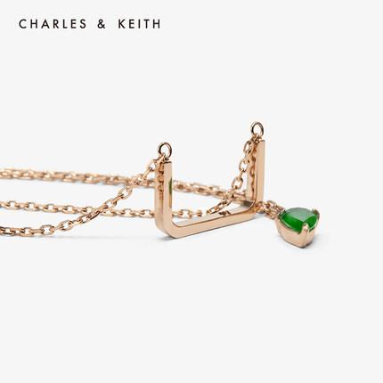 đồ trang trí trang phục  CHARLES & KEITH Vòng cổ CHARLES & KEITH CK5-21470029 Vòng cổ kết hợp đá quý