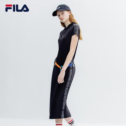 Đầm FILA Đầm dự tiệc chính thức của phụ nữ 2018 mùa hè mới