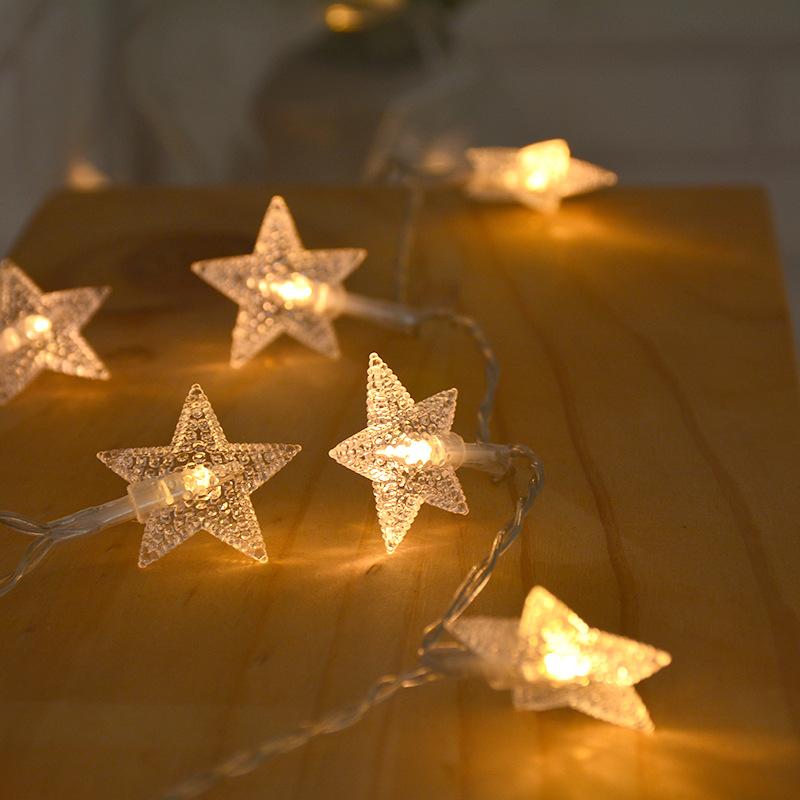 ABSY Đèn trang trì Gypsophila dẫn chuỗi pin hộp usb đèn lồng sao chuỗi quà tặng trang trí đám cưới t