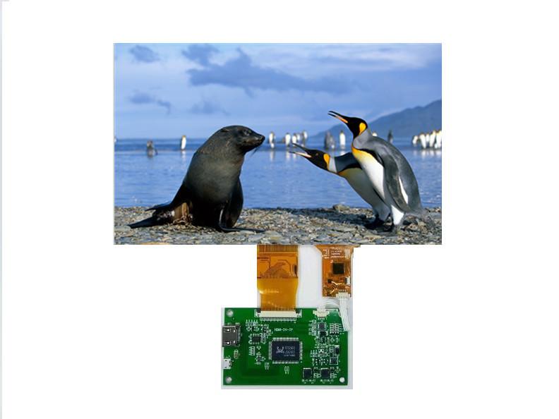 WANTY Sản phẩm LCD Màn hình cảm ứng LCD toàn màn hình 10.1 inch 1024 * 600 HD Hiển thị đầu ra HDMI c