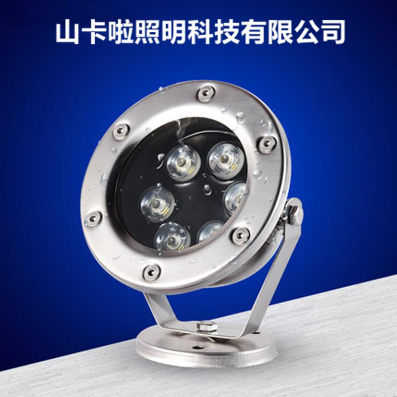 Đèn LED chiếu sáng ngoài trời bằng thép không gỉ .