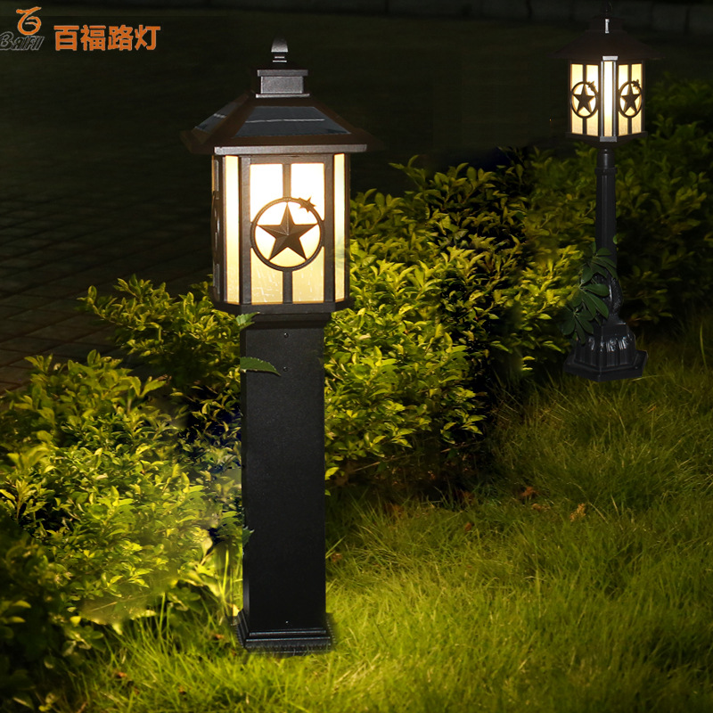 Đèn LED chiếu sáng trang trí sân vườn  .