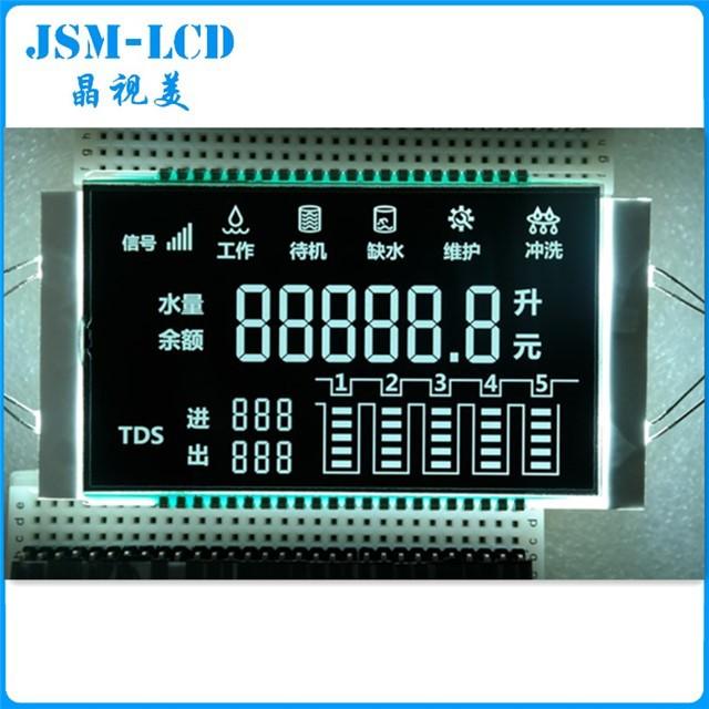JINGSHIMEI Sản phẩm LCD Máy lọc nước và màn hình LCD, hiển thị mã phân khúc máy lọc nước, sản phẩm t