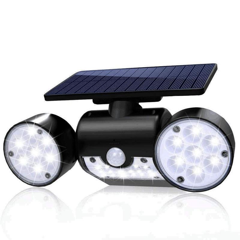Đèn chiếu sáng sân vườn ánh sáng cảm ứng thông minh dùng năng lượng mặt trời