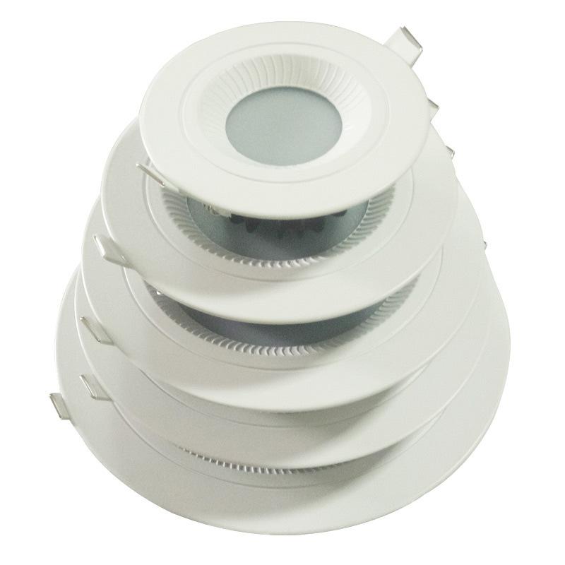 NUOBAOSEN Đèn trần bộ Led tích cực ánh sáng downlight 6 inch đúc đúc downlight vỏ kit bán buôn