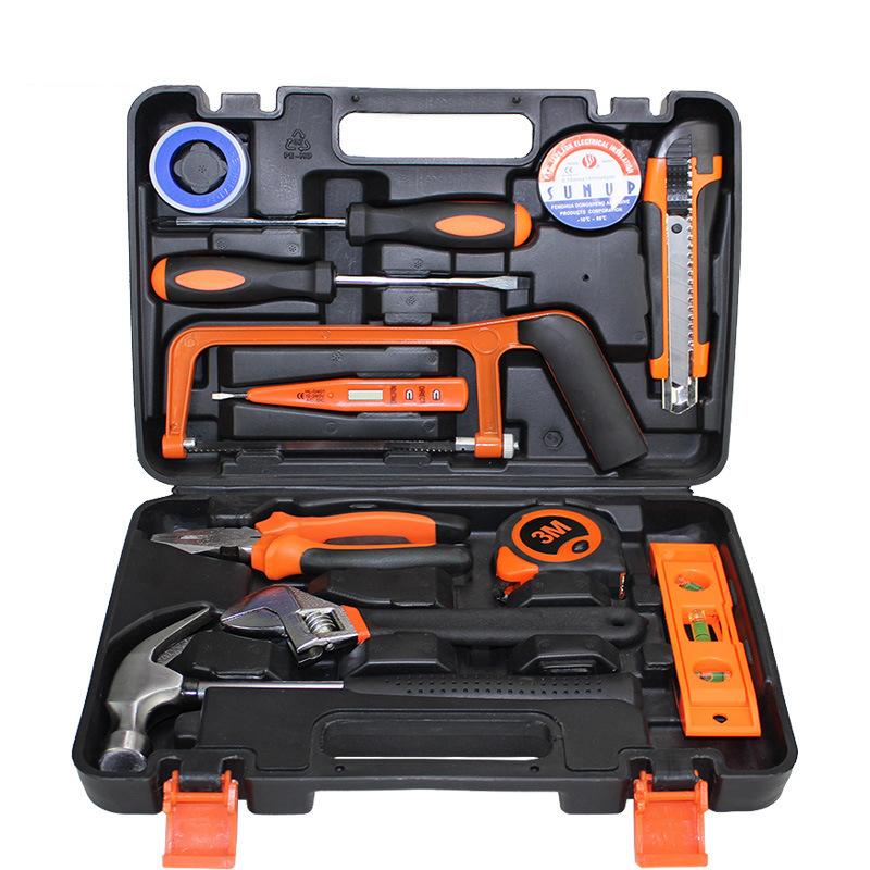 Bộ hộp công cụ kết hợp gồm 13 bộ dụng cụ sửa chữa khẩn cấp cho xe hơi