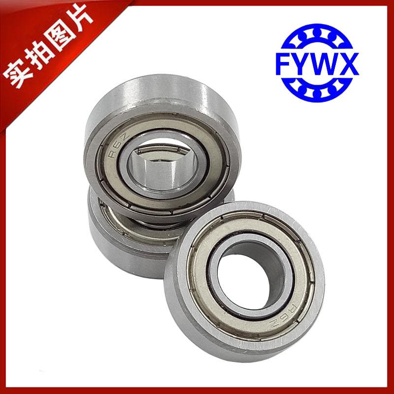 Bạc đạn Nhà sản xuất chuyên sản xuất và cung cấp vòng bi thu nhỏ R6-2RS Kích thước 9,53 * 22,23 * 7,