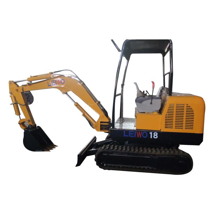 LEIWO Máy đào đất Máy xúc nông nghiệp xây dựng