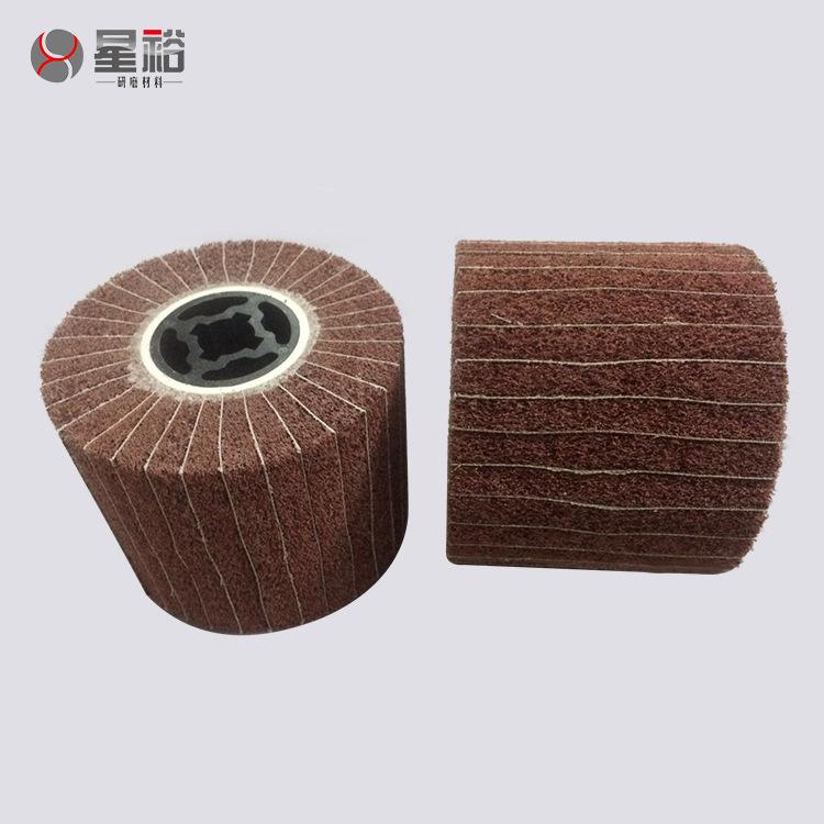XINGYUYAN Công cụ mài Nhà sản xuất cung cấp phần cứng mài mòn vải chéo cao su lõi vẽ bánh xe bằng th