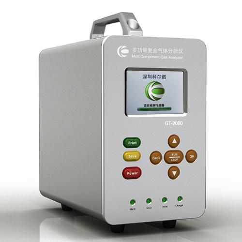 Máy phân tích nồng độ khí cầm tay GT-2000-K6 do Korno sản xuất
