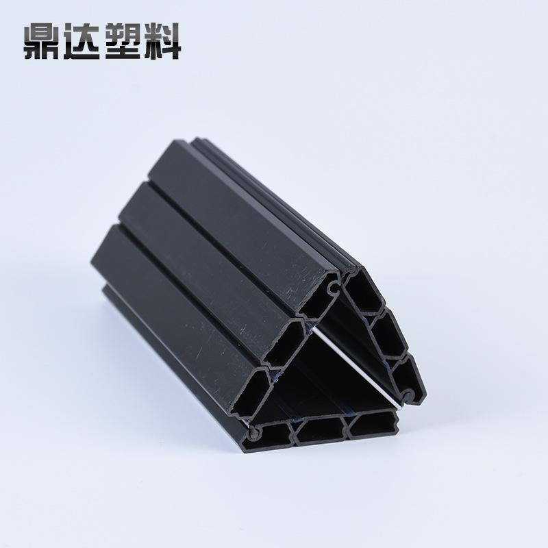 Vật liệu dị dạng Nhà máy trực tiếp PVC nhựa hồ sơ nhựa xanh hồ sơ nhựa cuộn cửa đùn đùn cửa cuốn