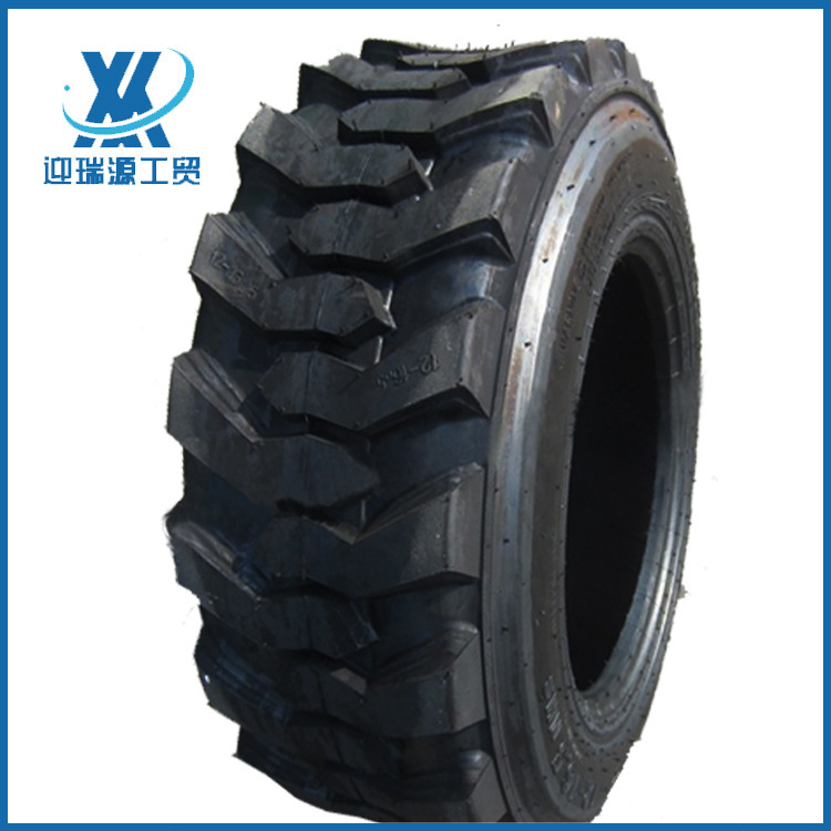 Bánh xe lốp xe nâng lốp 10-16.5 Bobcat skid steer loader