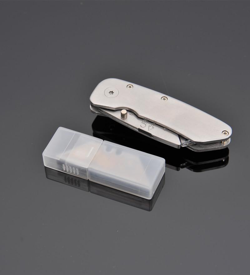 Riyefa Dao thợ điện Nhà máy trực tiếp gấp dao hình thang dao điện dao thép không gỉ kim loại gấp dao