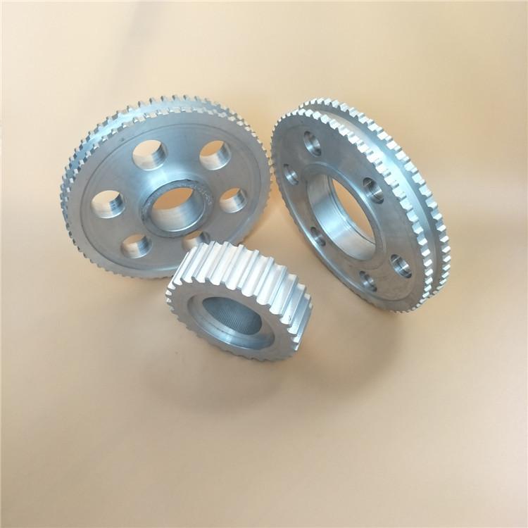 B-LITE Bánh răng Nhà máy Sơn Đông cung cấp trực tiếp nhôm ATG10 vành đai đồng bộ xử lý bánh xe ròng
